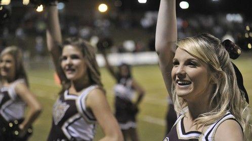 Varsity Cheer Leaders at Ninety Six High School