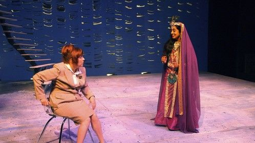 P.A.ALI as Marayamma with Lindy Benton Muller in Miss Witherspoon 2007