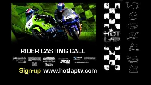Rider Casting Call Marketing Imagery