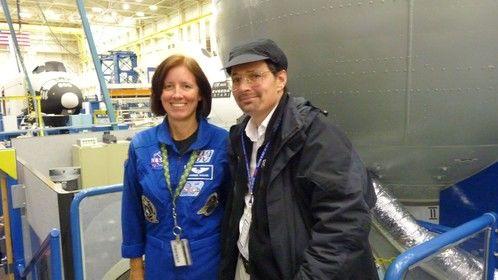 At NASA Mockup facility earlier 2012.