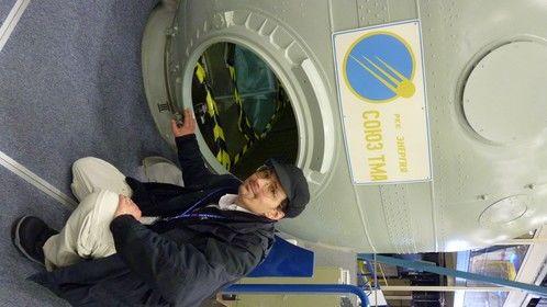 Russian Soyuz at NASA