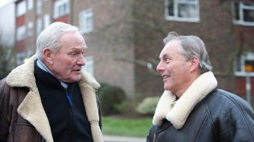 Julian Glover & Director Graham Pountney