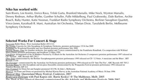 Niko Schauble CV page 2