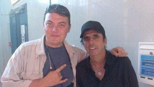 Alice Cooper is my number one fan!
