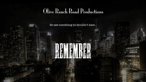 Temporary Poster for Remember