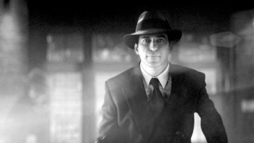 The fedora wearing lead in 'Nuit Blanche'.