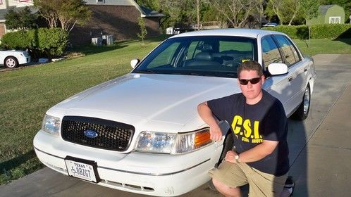 Myself and a former Crown Victoria I self taught advanced driving.