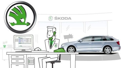 Skoda Dealer Instructional