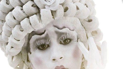 Planetmaz Makeup Art - fashion / walkabout performer shoot