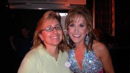 Broadway actress and voice of the Little Mermaid, Jodi Benson.