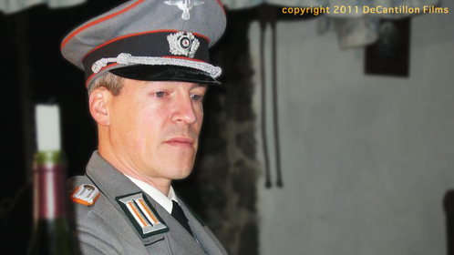 German Officer in 'The Only One Who Knows You're Afraid' by Timothy Reynard
