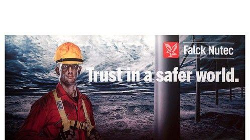 Ad Campaign for Falck Nutec