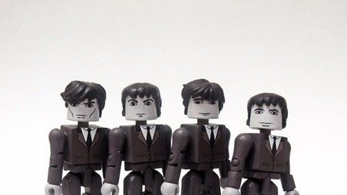 The Beatles: A Hard Day's Night Custom Block Figures