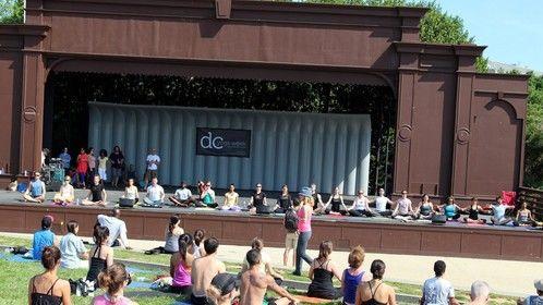 DC Yoga Week 2012 (On Stage)