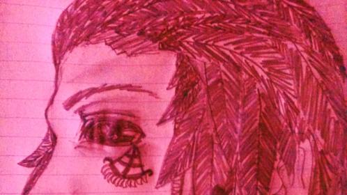 The Rauthlin, A Sawktee youth. (c) (Art by Aspyn Adams)