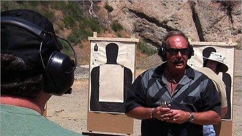 Teaching a firearms class
