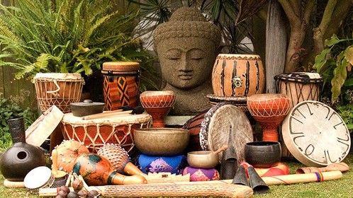 Buddha drums