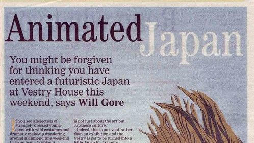 Richmond Times article on the Japanese Art Festival