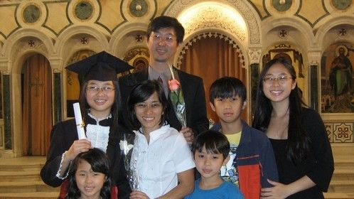 This is my family, in 2009, since that several things happened, and we learned together the meaning of Life: Live is good!