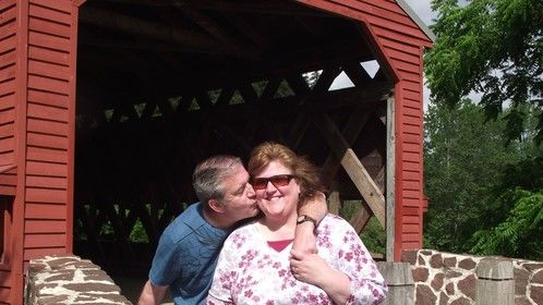 Len And Angie Paxton At Sach's Covered Bridge