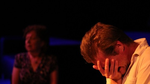 Roy Cohn, Angels in America, Part Two: Perestroika, 2011. (rehearsal photo)