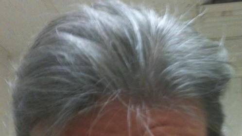 Greying for Grandpa Joe, Willy Wonka, 2011.