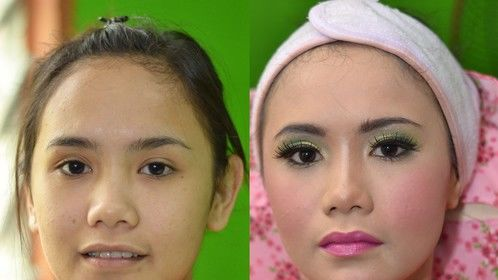 Bridal Make-Up - Before & After Make-Up