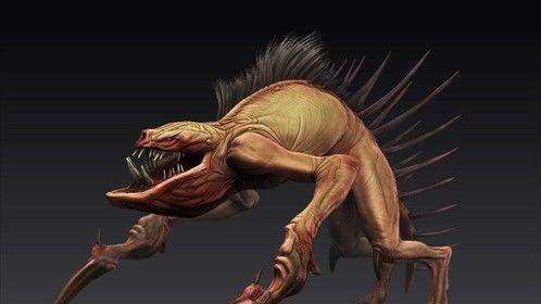 Catacomb Creature - ZBrush 3d sculpt