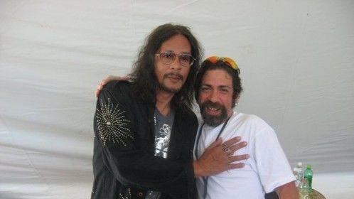 With Leon Hendrix Brother of Jimi Hendrix in Wa. State