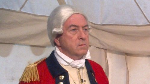 "Walt Sloan as a British General in ""The Just""."
