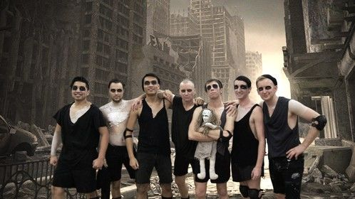 The cast of TITUS