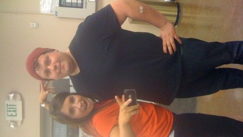 "me and bristol palin for ""dancing with the stars"""