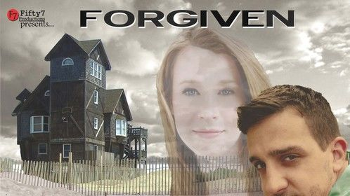Poster for off-Broadway production of Forgiven produced by Fifty7 Productions
