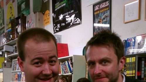 Me with Nerdist founder Chris Hardwick
