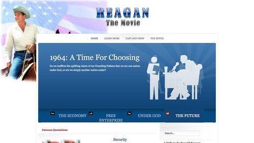 Reagan, a proposed movie
