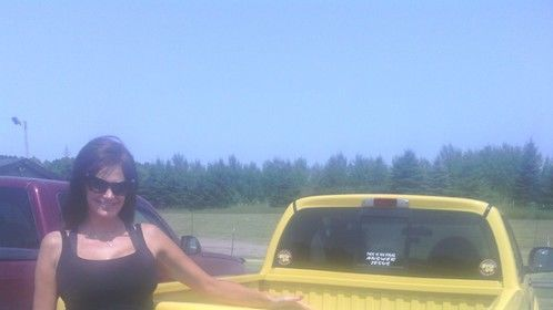 Here i am with the Sunny and Hulk Hogan Truck in minn.