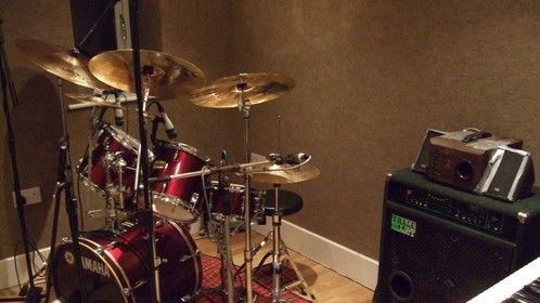 My humble studio live room