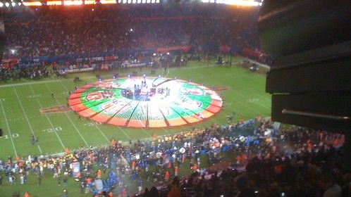 THE WHO at the SuperBowl half time show