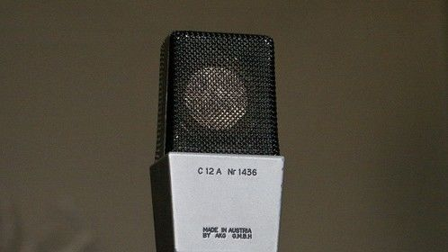 Early 1960s AKG C12 A - My favourite microphone