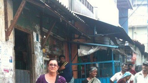 in the streets of sri lanka