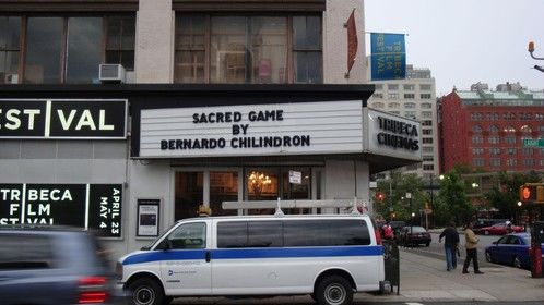 The screening of Sacred Game at Tribeca, NYC