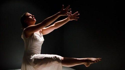 "Kathryn Dunkel Zeek in ""the changing room"" 2012 photo by Liza Voll"