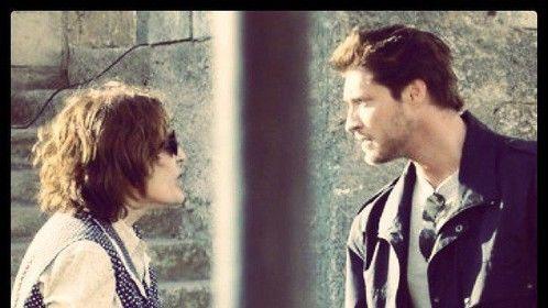 Mandy Logothetis as Regina Morri and Sean Kanan as Michael Morri - Sons of Italy