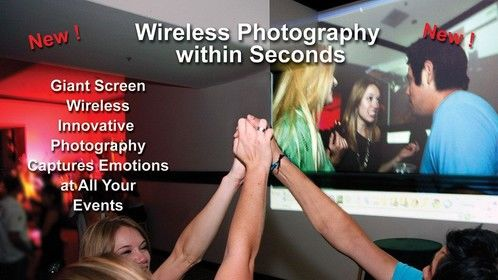 instant on screen photography new and wow factor pics on screen 3 seconds after taken cool fo rparties and events.