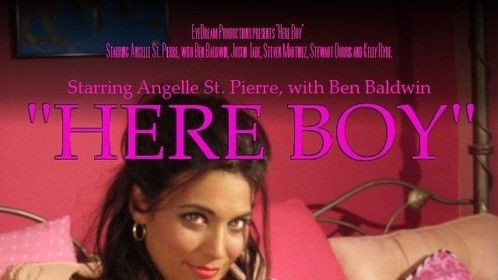 """""""Here Boy"""" Poster 2009 written, produced and directed by Holly Adams"""