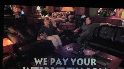 MOR furniture commercial