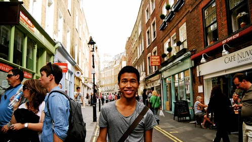 in London after performing in the 2011 Edinburgh Fringe Festival