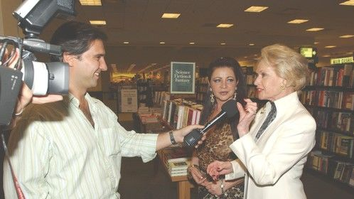 "Media launch of ""Land of the Free"" in Hollywood with Tippi Hedren"