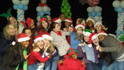 Show Choir christmas set, my junior year!