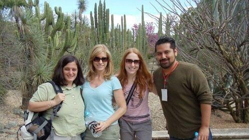 Jen, Me , Amy and Felix, Rad Filmmakers in Oaxaca